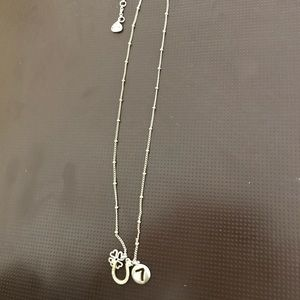 """Fossil """"Lucky Charm"""" necklace"""